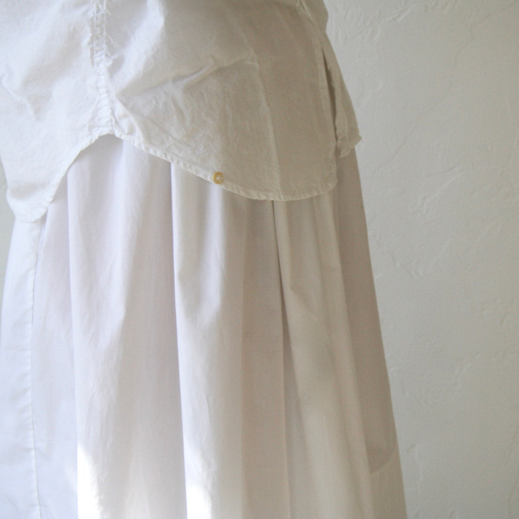Bon Tie Back Skirt - White
