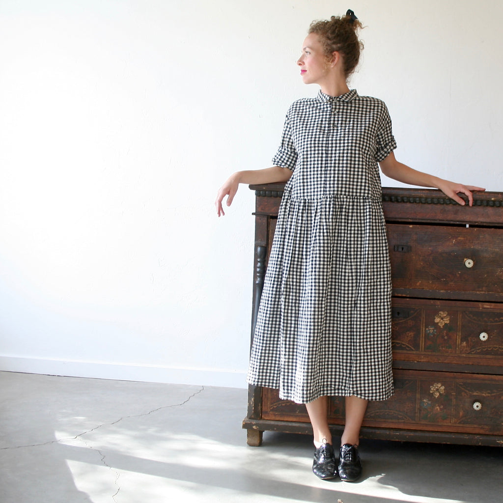 Gingham Dress - Two Colors