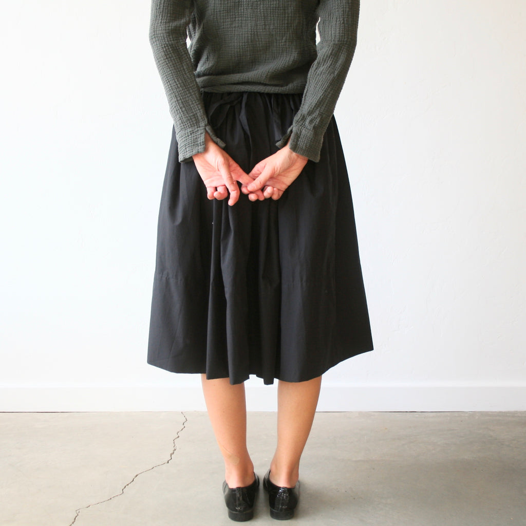Bon Tie Back Skirt- Black