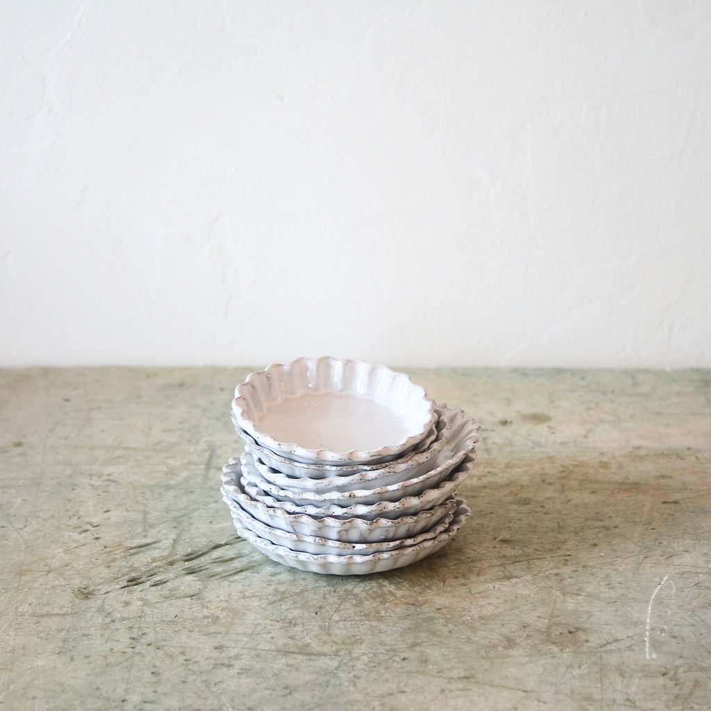 Astier de Villatte Small Round Dishes - Two Sizes