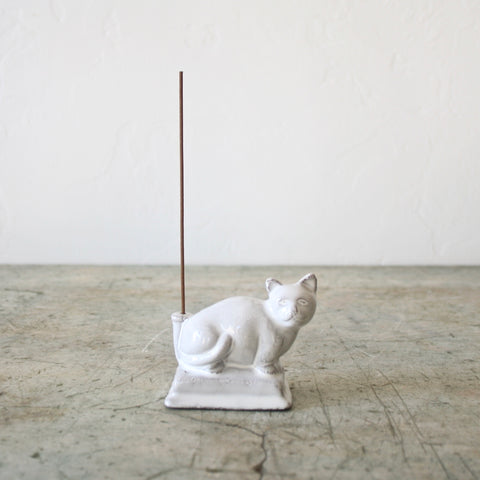 Astier de Villatte Incense Holder - Cat