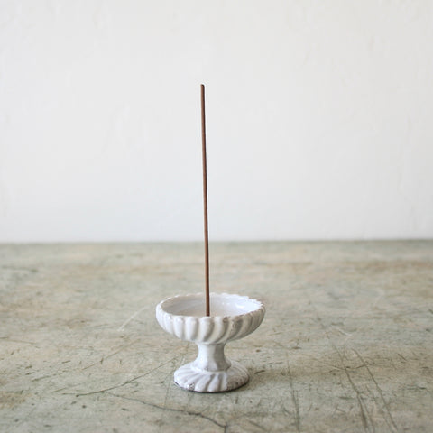 Astier de VIllatte Incense Holder - Pedestal Dish