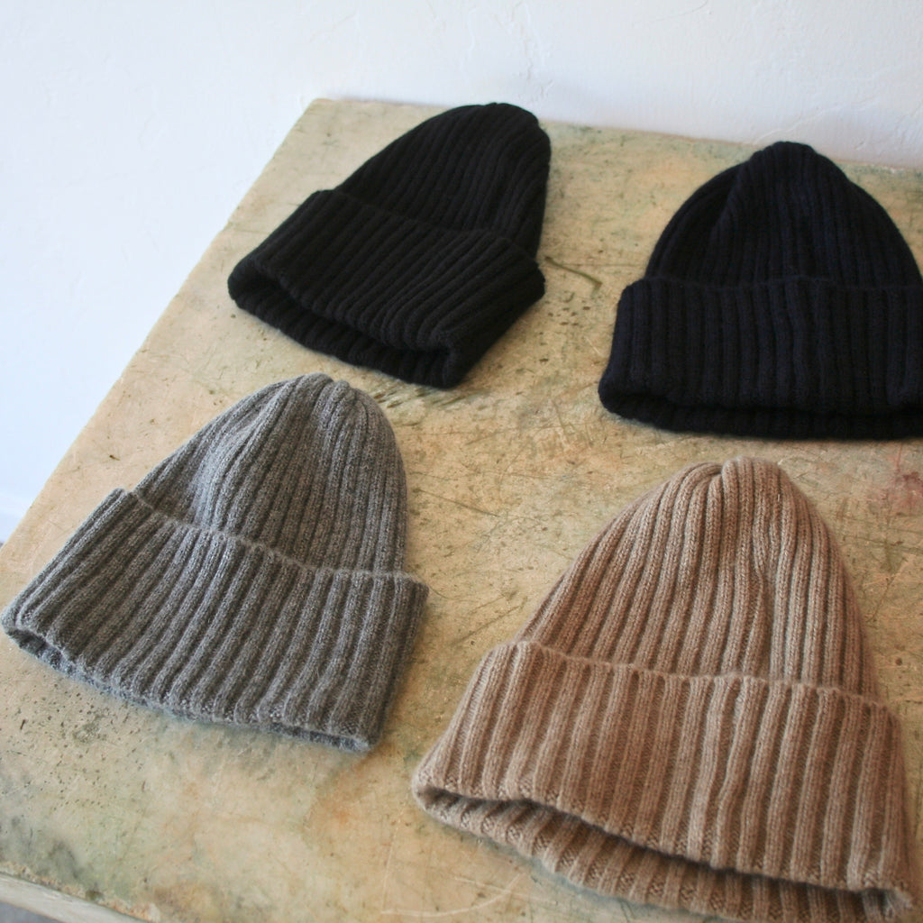 Cashmere Cap - 4 Colors