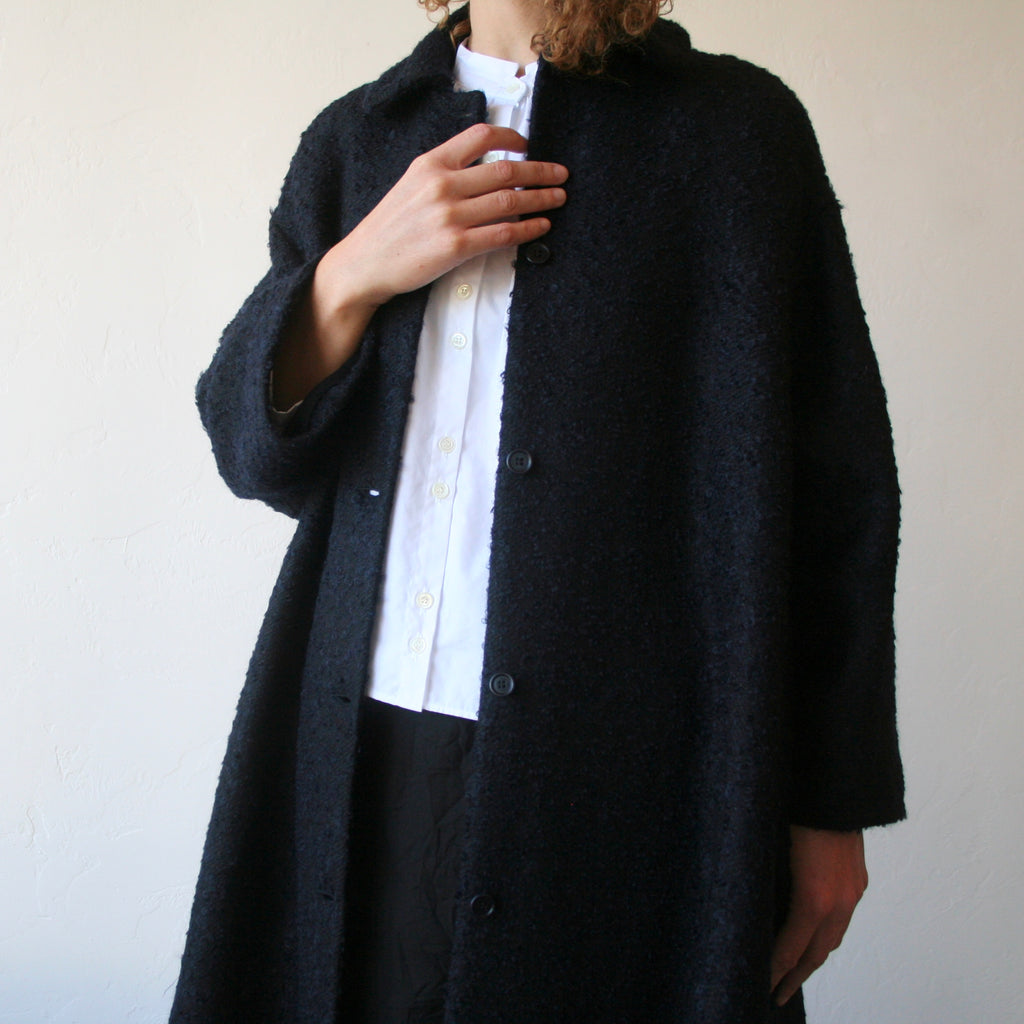 Wool/Linen/Mohair Coat