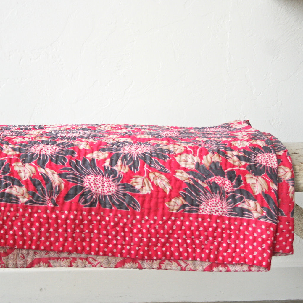 Jeanette Farrier Bed Cover, Queen