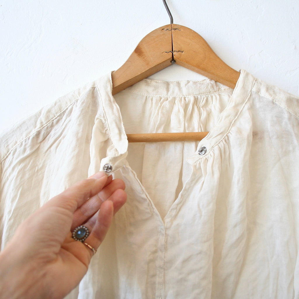 Hazel Brown Silk Shirt