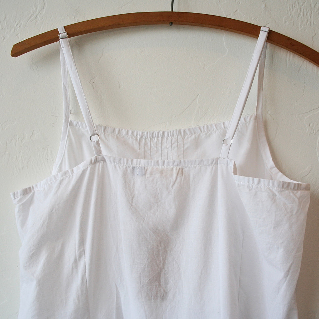 Sula White Cotton Slip