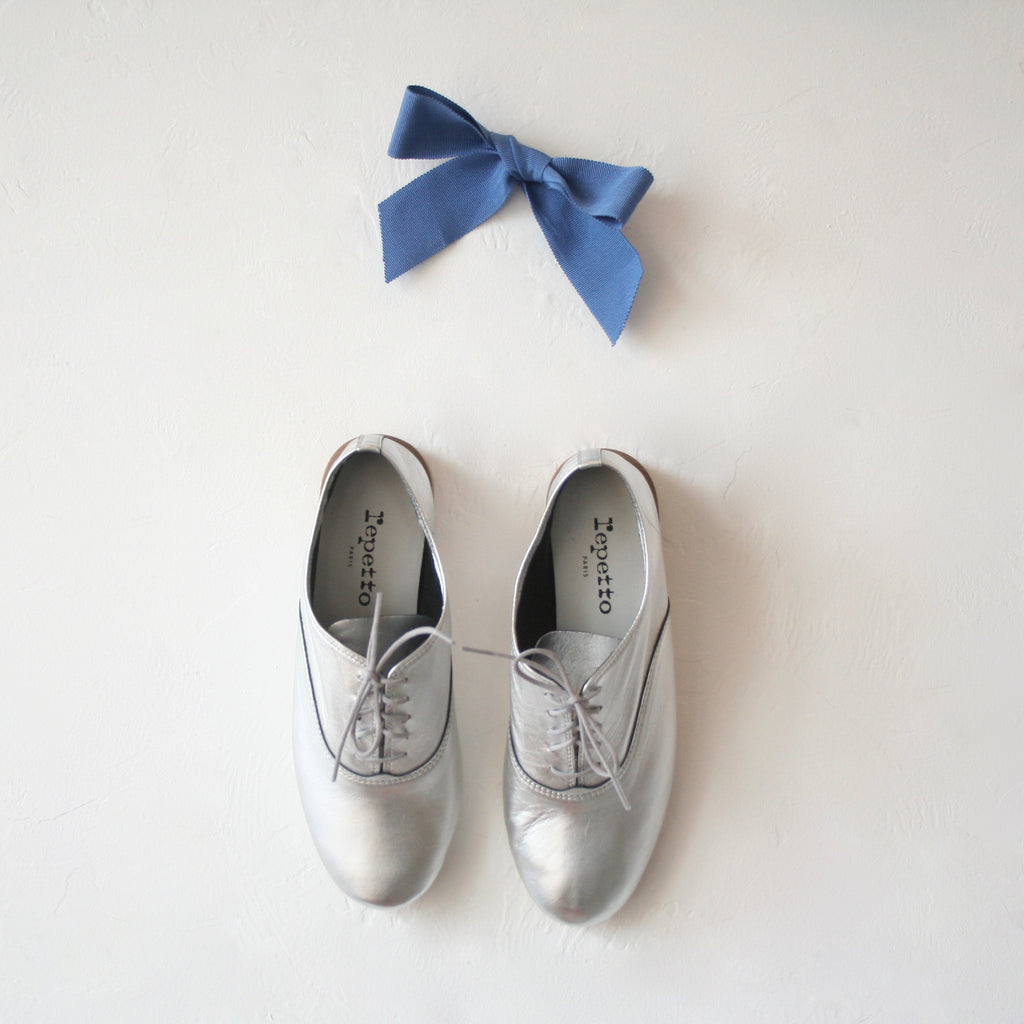 Repetto Jazz Shoes - Silver