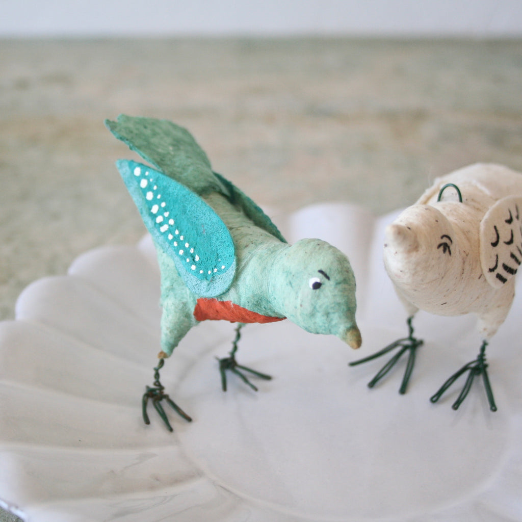 Vintage by Crystal Cotton Birds
