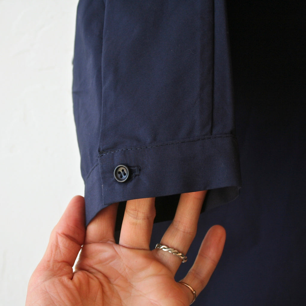 Bon Peter Pan Shirt - Navy