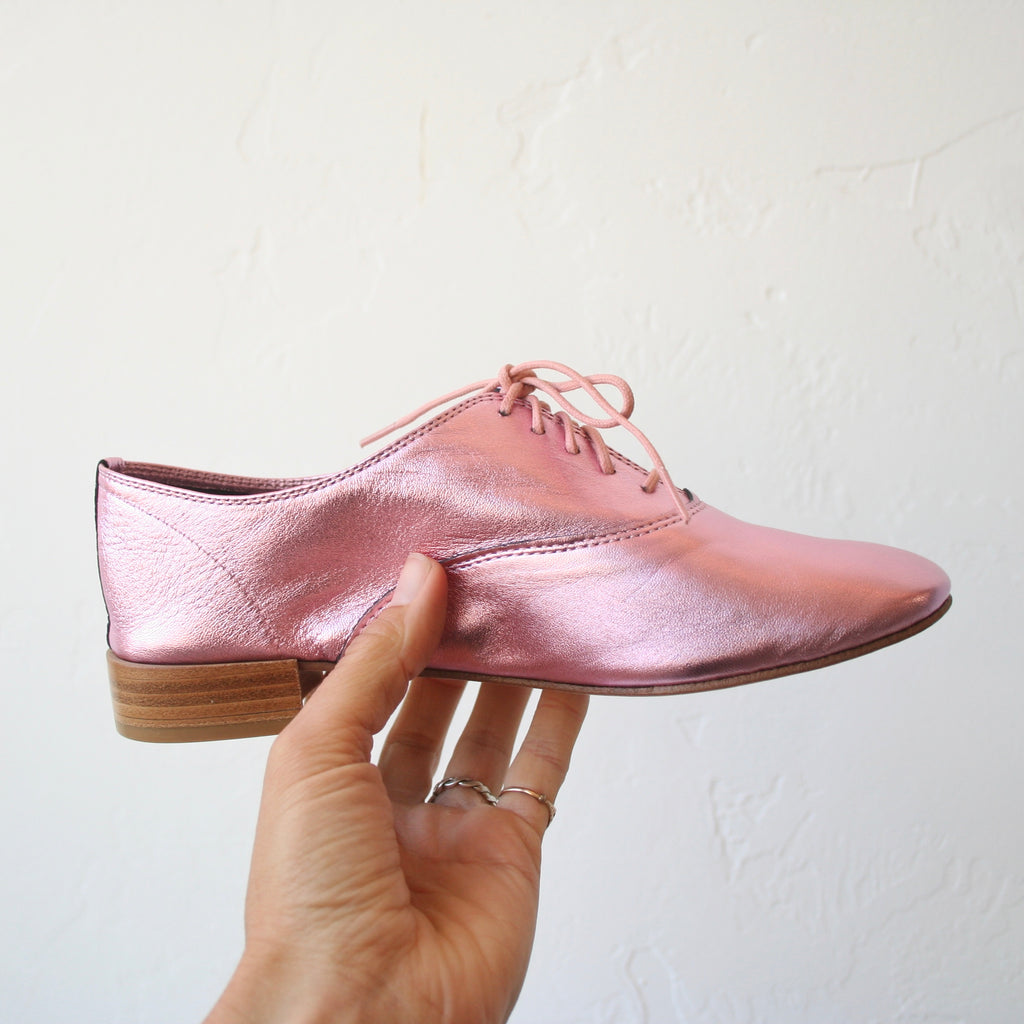 Repetto Jazz Shoes - Metallic Pink