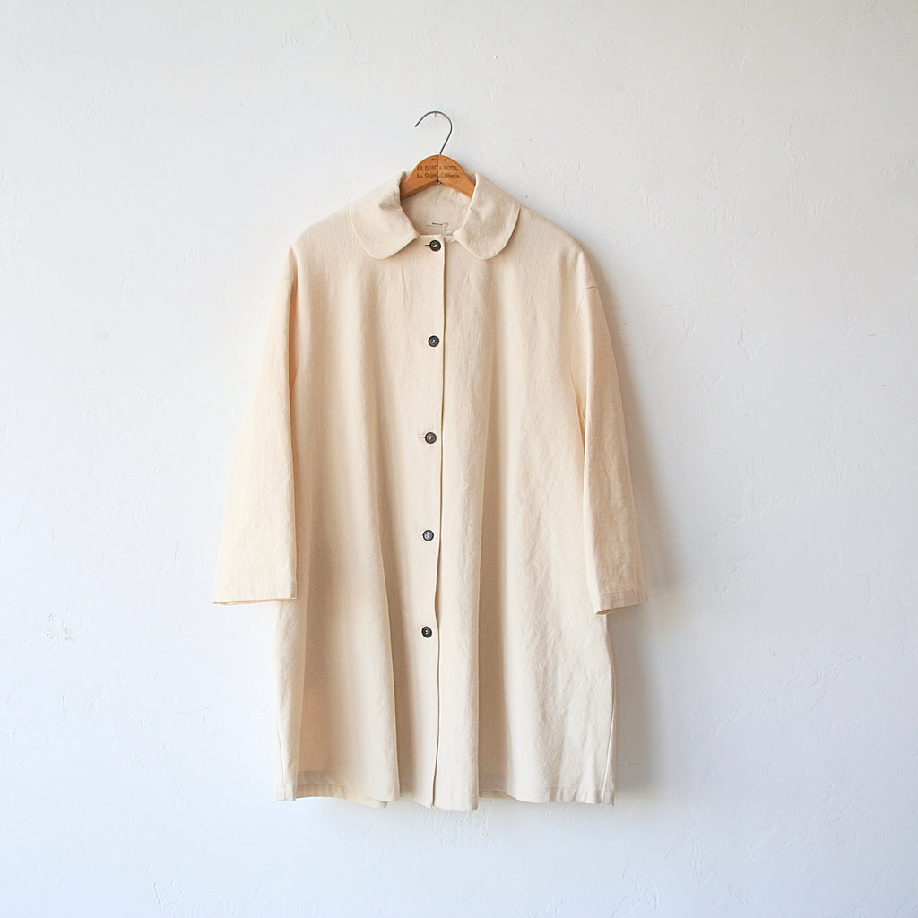 Apuntob Peter Pan Cotton Coat