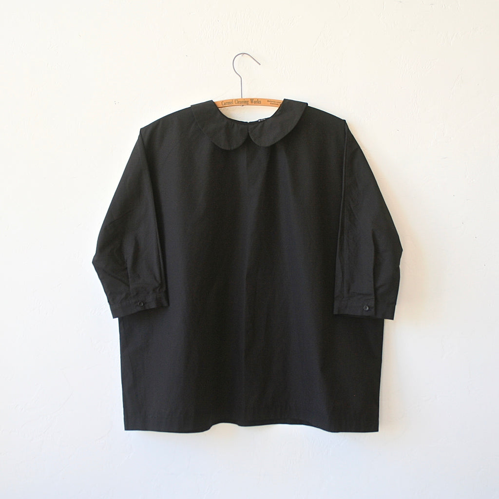 Bon Peter Pan Shirt - Black