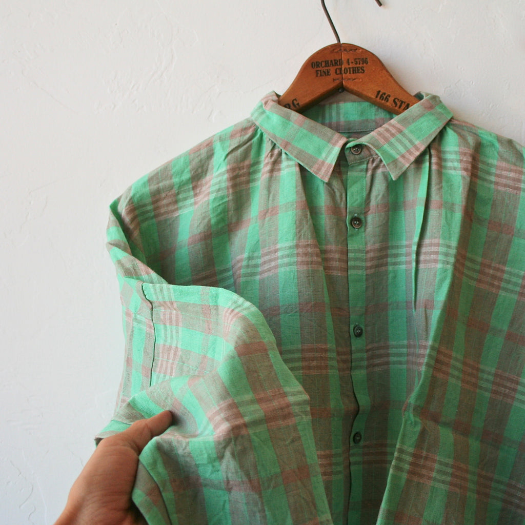 Ichi Antiquités Plaid Shirt