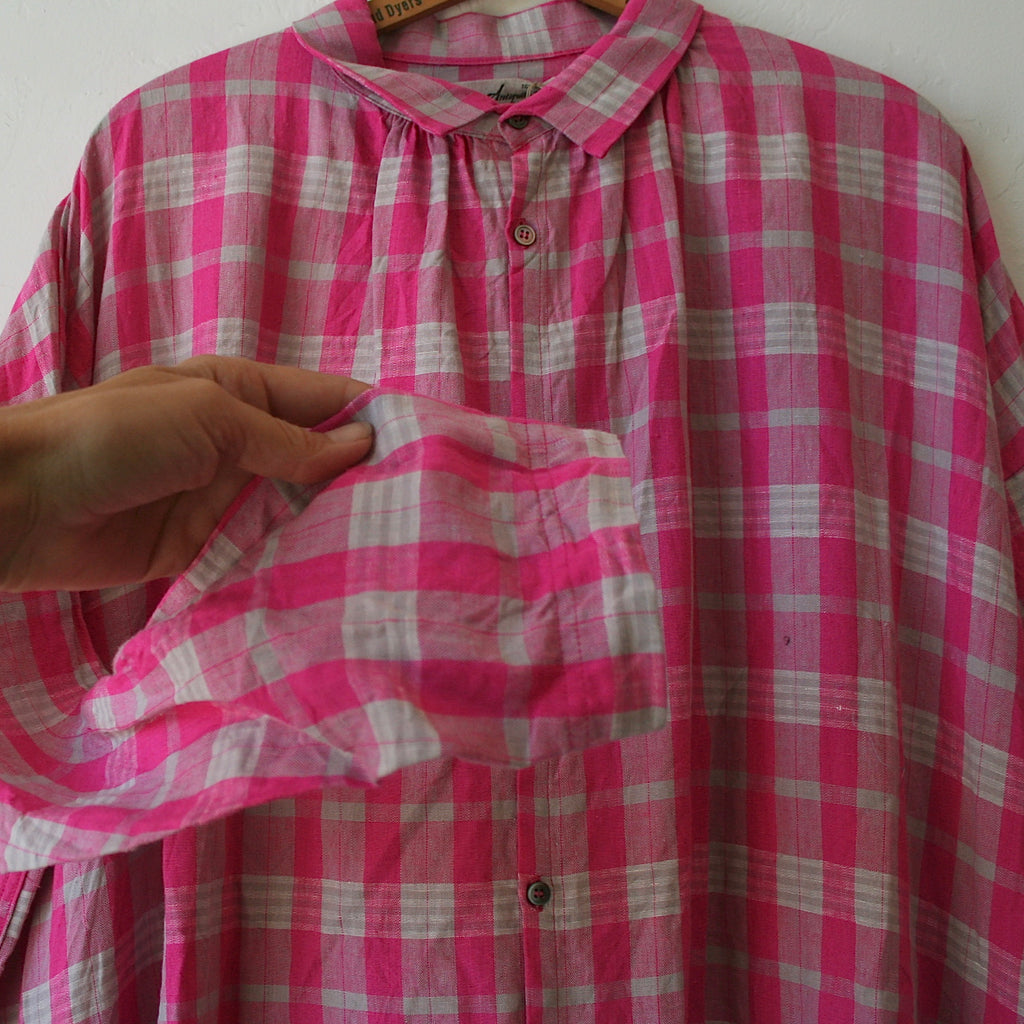 Ichi Antiquités Plaid Dress