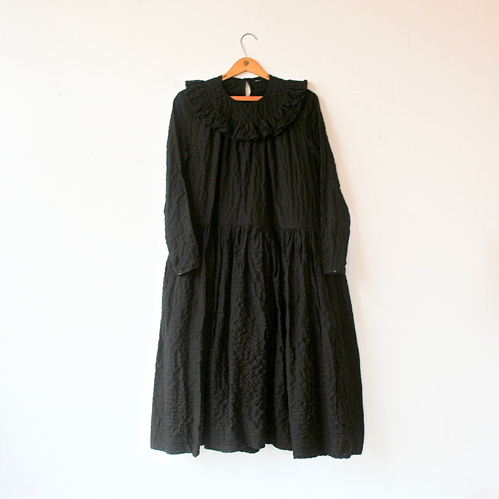 Bon Ruffle Collar Dress