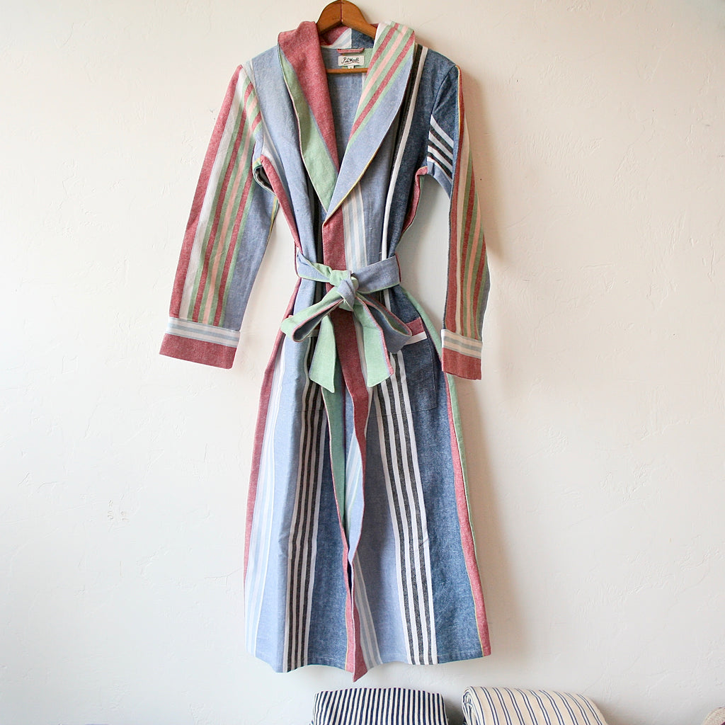 P. Le Moult Robe - Multi-Colored Stripes