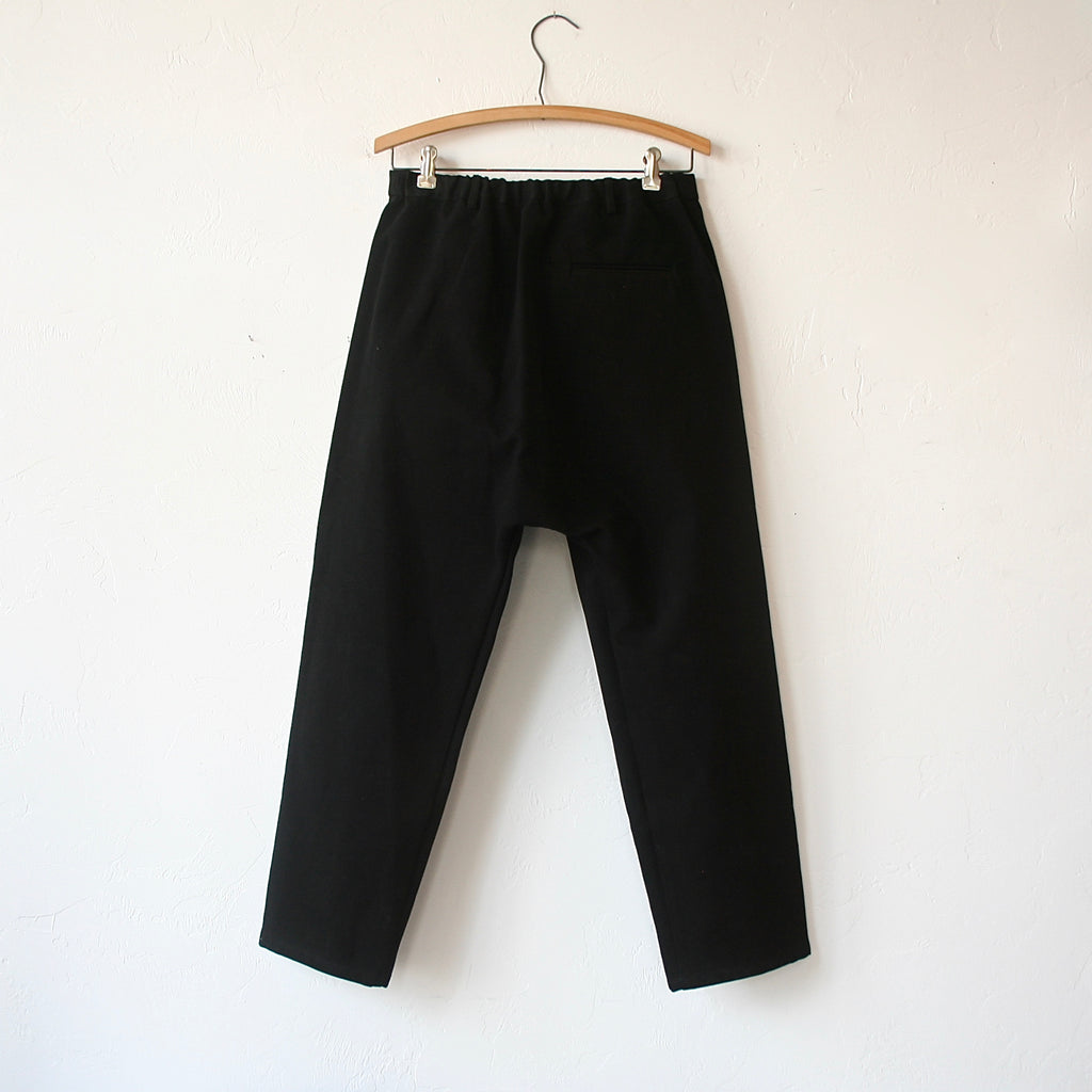 Apuntob Sueded Cotton Trousers - Black