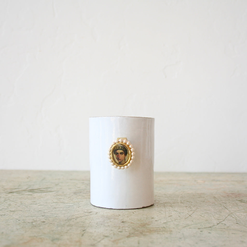 Astier de Villatte & Serena Carone Ring Cup - Male or Female Portrait