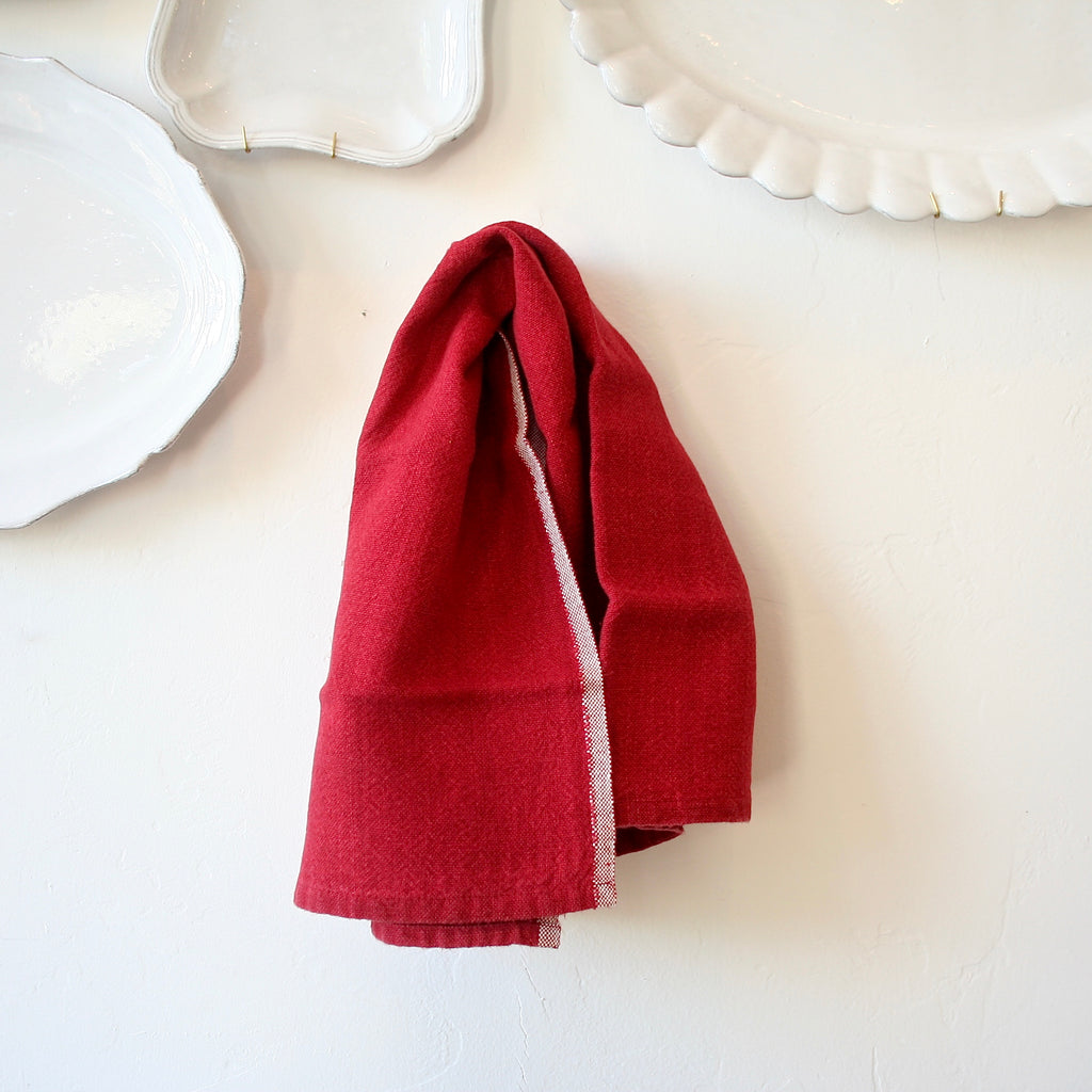 Set of Two Linen Kitchen Towels - 3 Colors