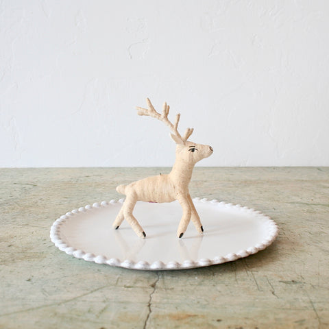 Vintage by Crystal Deer Figure