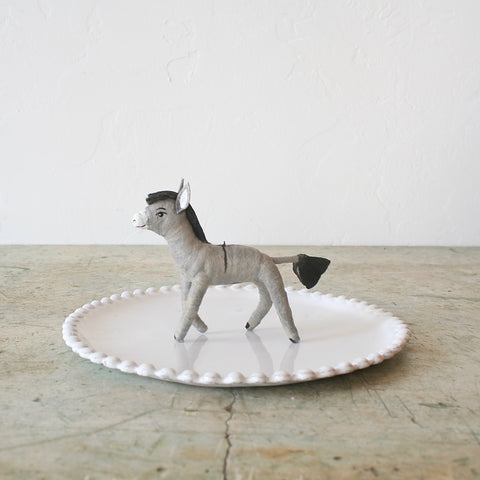Vintage by Crystal Donkey Figure