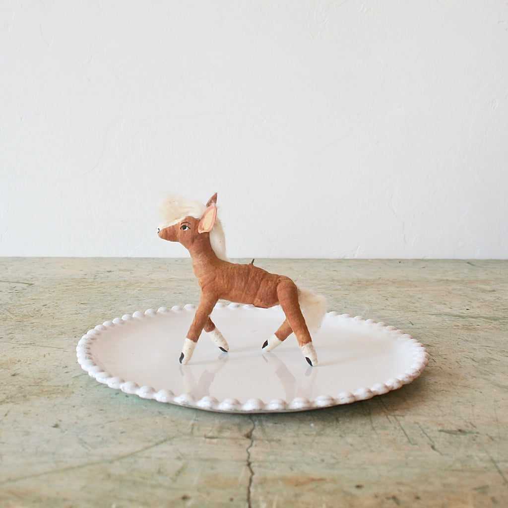 Vintage by Crystal Horse Figure