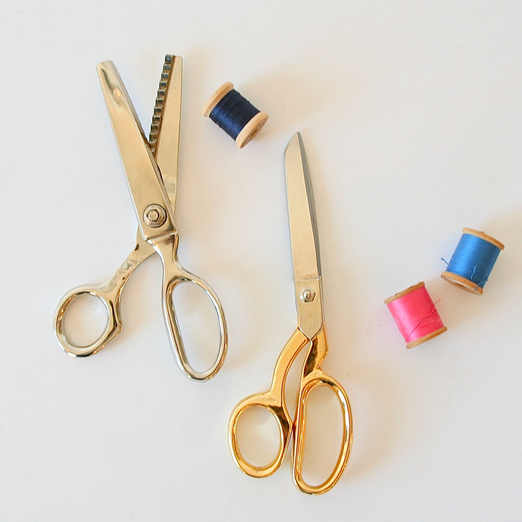 Dressmaker Shears & Tailor's Pinking Shears