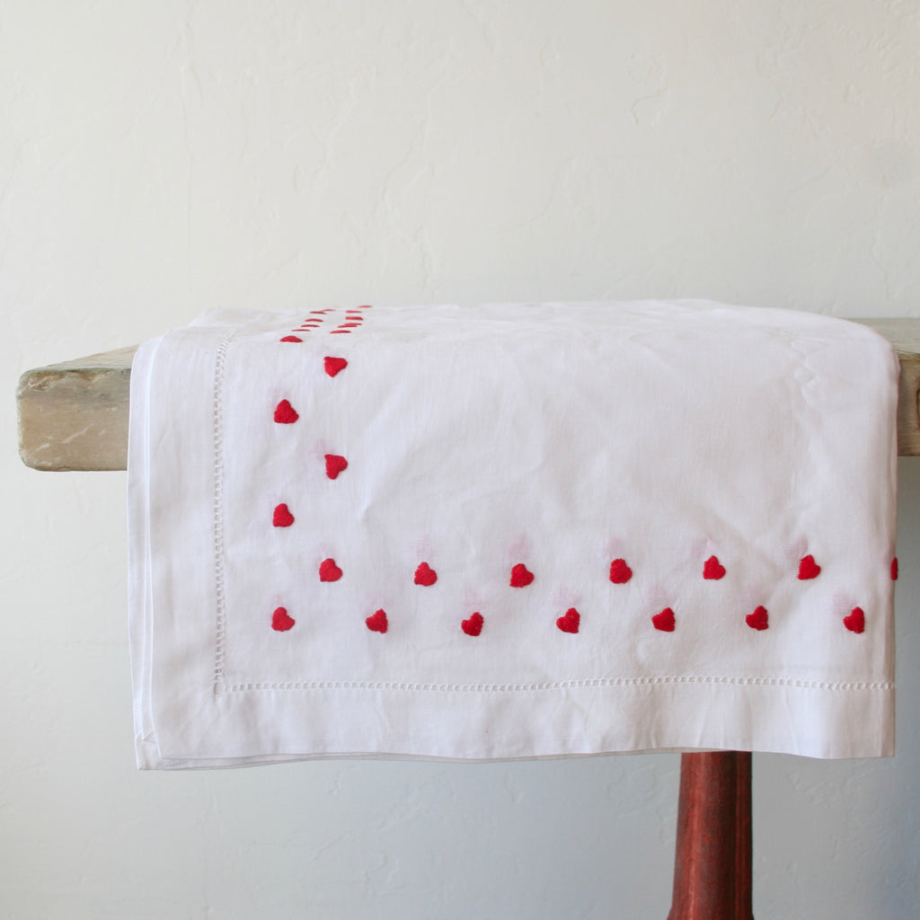 Hand Embroidered Tablecloths & Napkins
