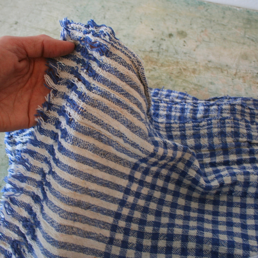 Cotton Gingham Textile