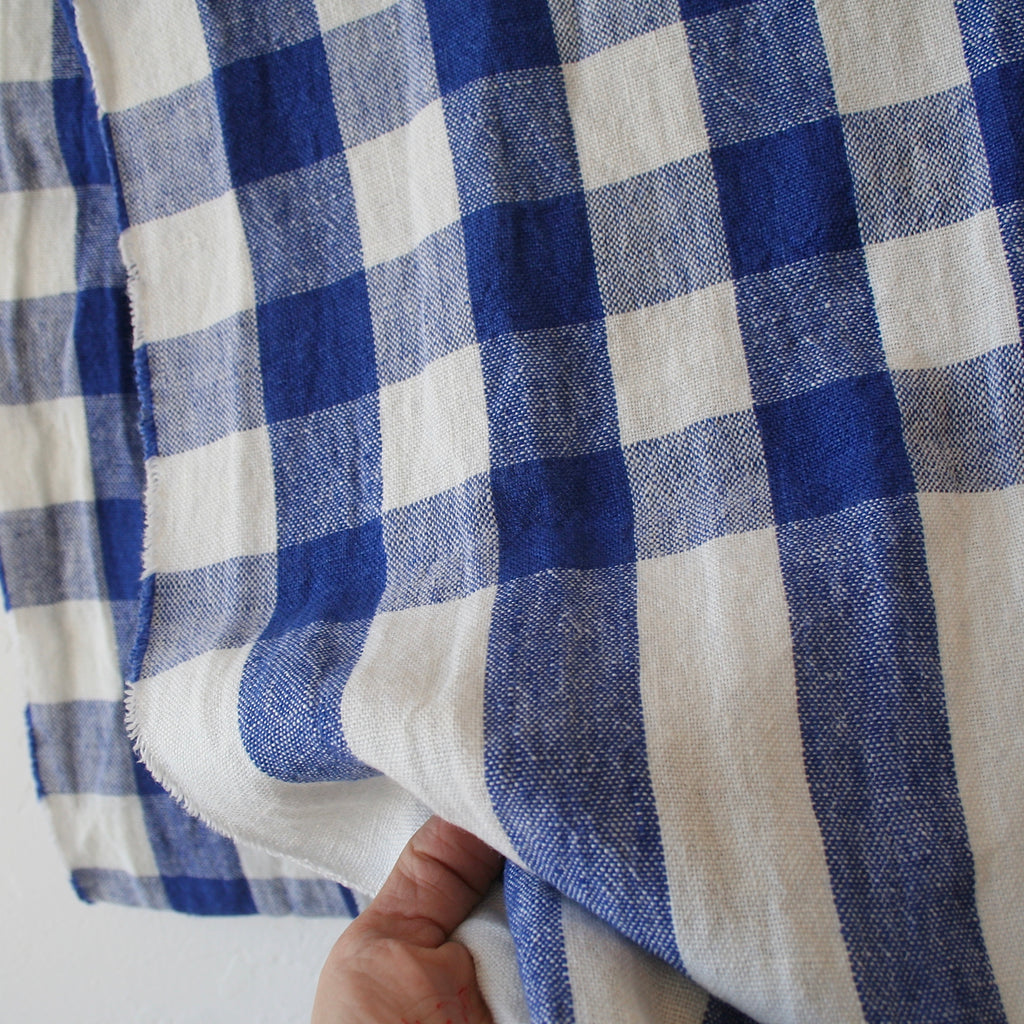 Apuntob Shawl/Throw - Electric Blue