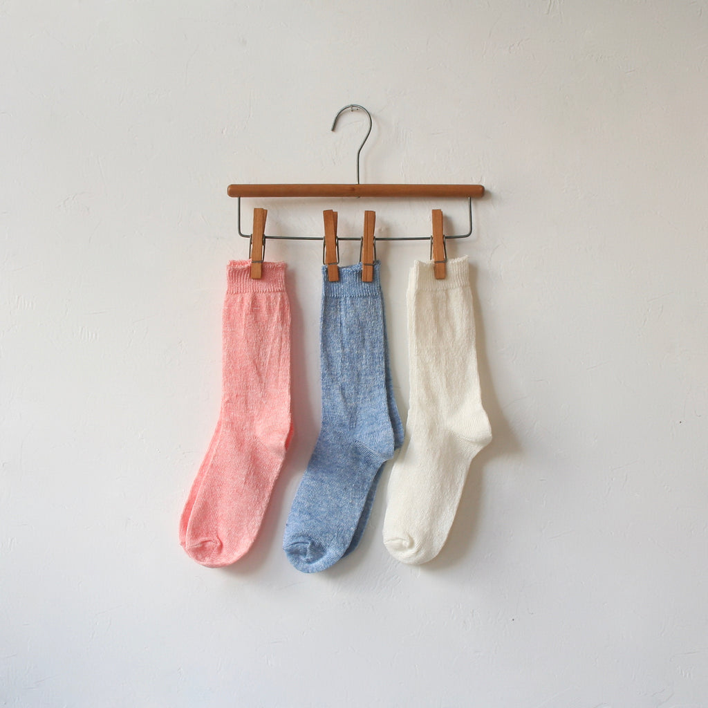 Fog Linen Socks - 3 Colors