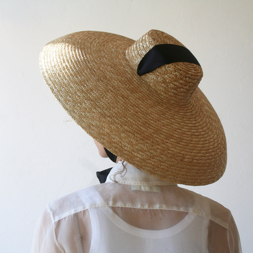 Rounded Brim Hat