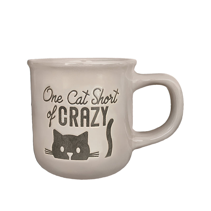 One Cat Short of Crazy Cup, Cool Gray