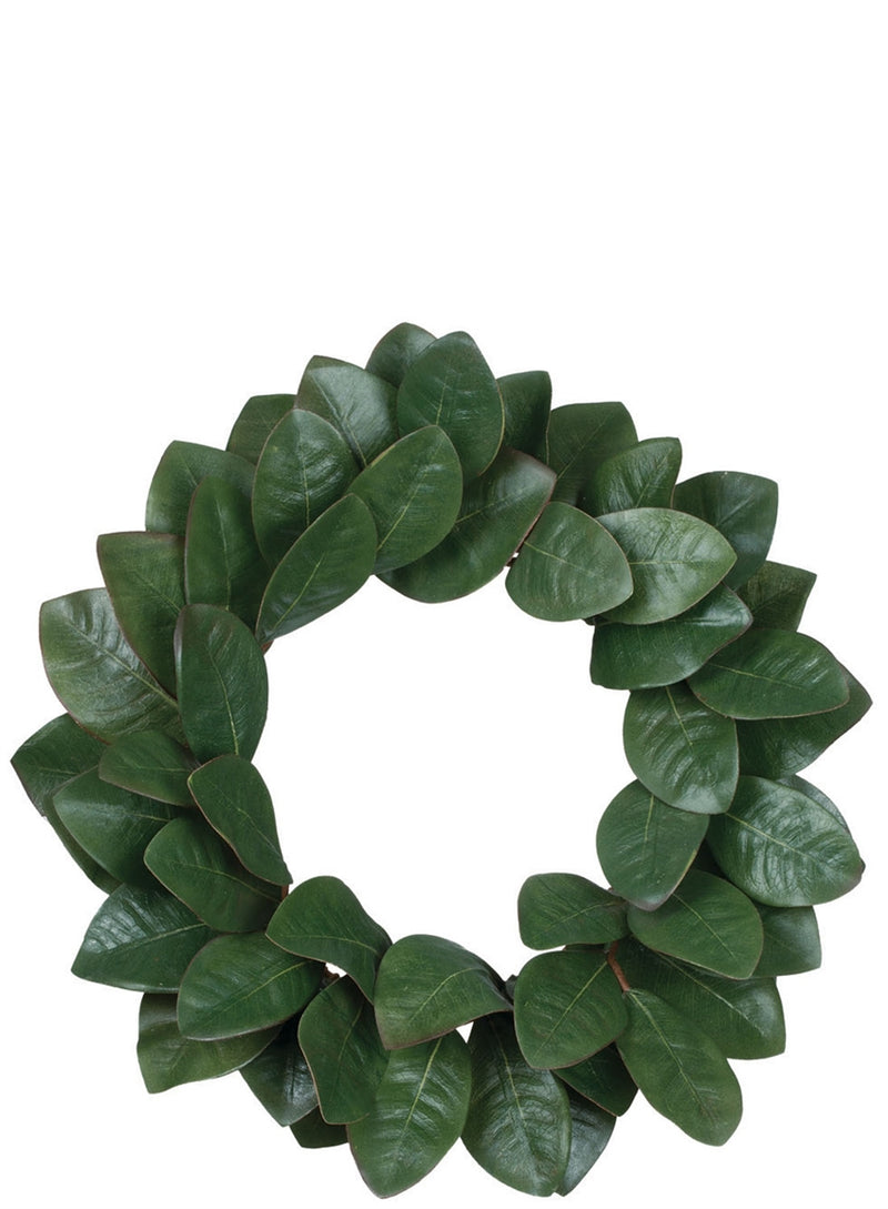 "20"" MAGNOLIA LEAF WREATH"