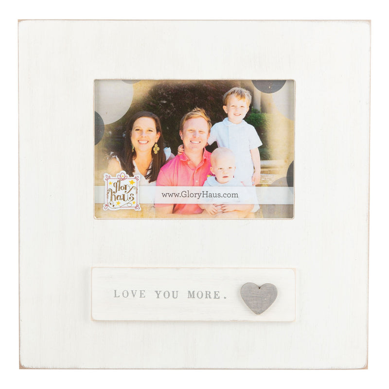 Love You More Heart Frame