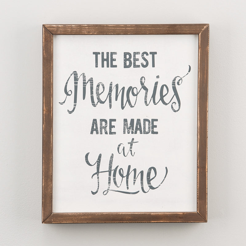 The Best Memories Framed Boards