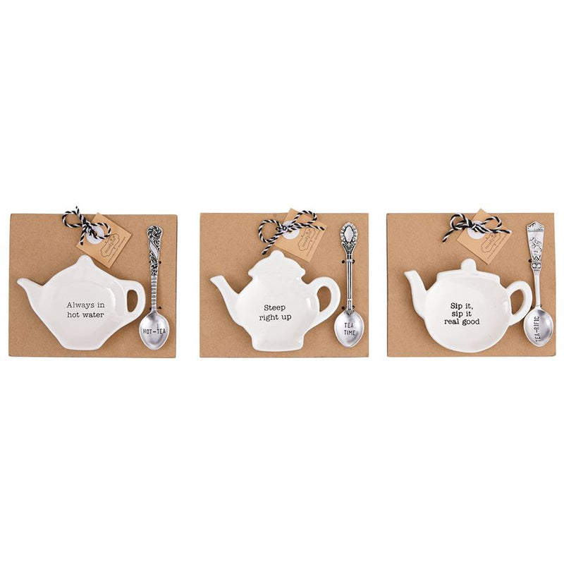 Teapot Spoon Rest Set