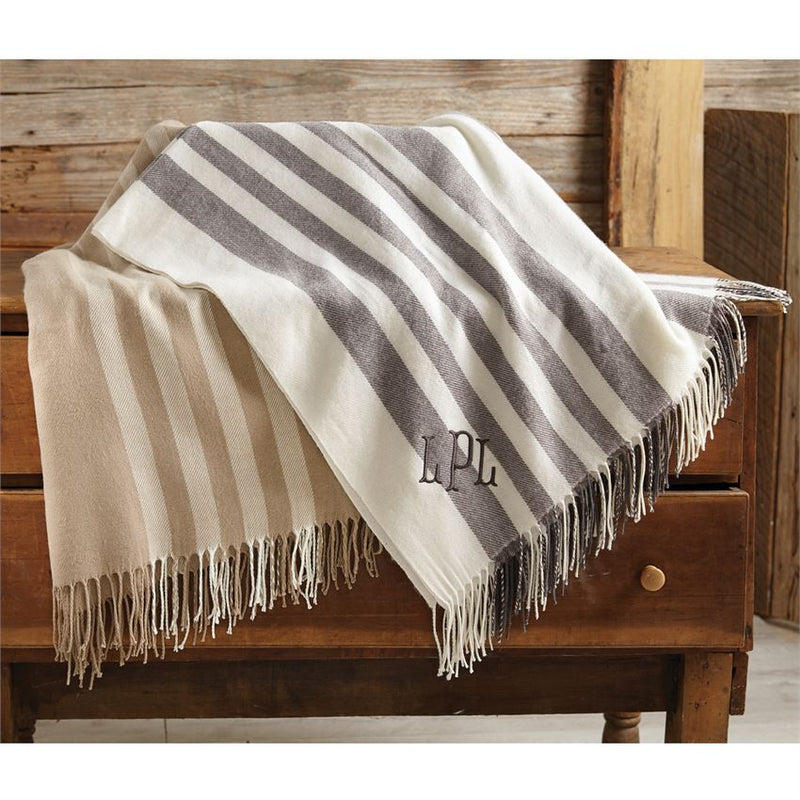 Striped Throw Blankets