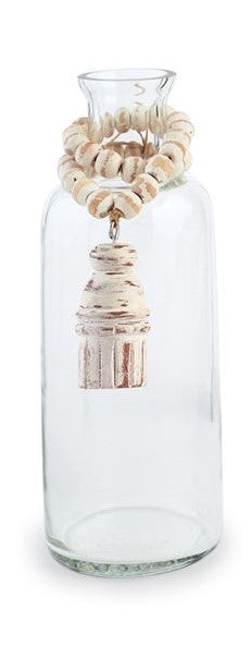 Blessing Bead Glass Vase