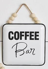 Coffee Bar Tin Sign