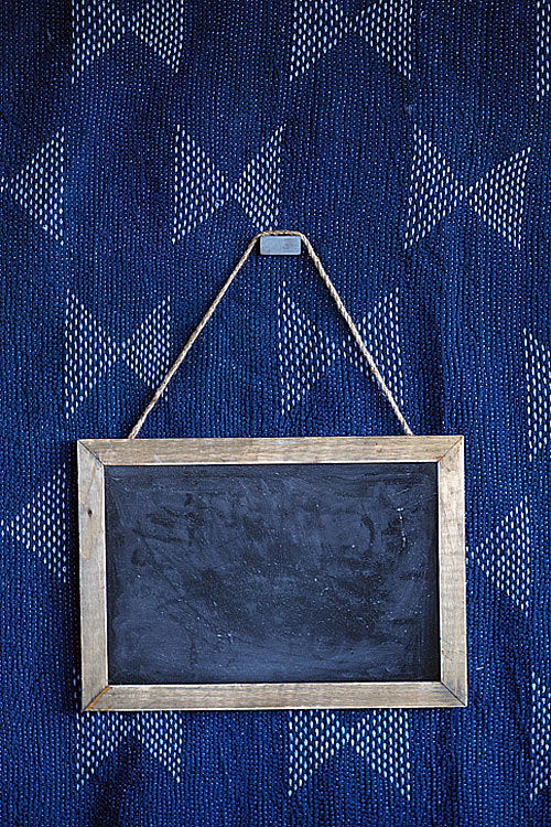 Rectangular Wood Chalk Board