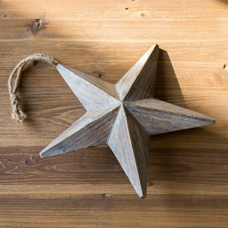 Wooden Christmas Star