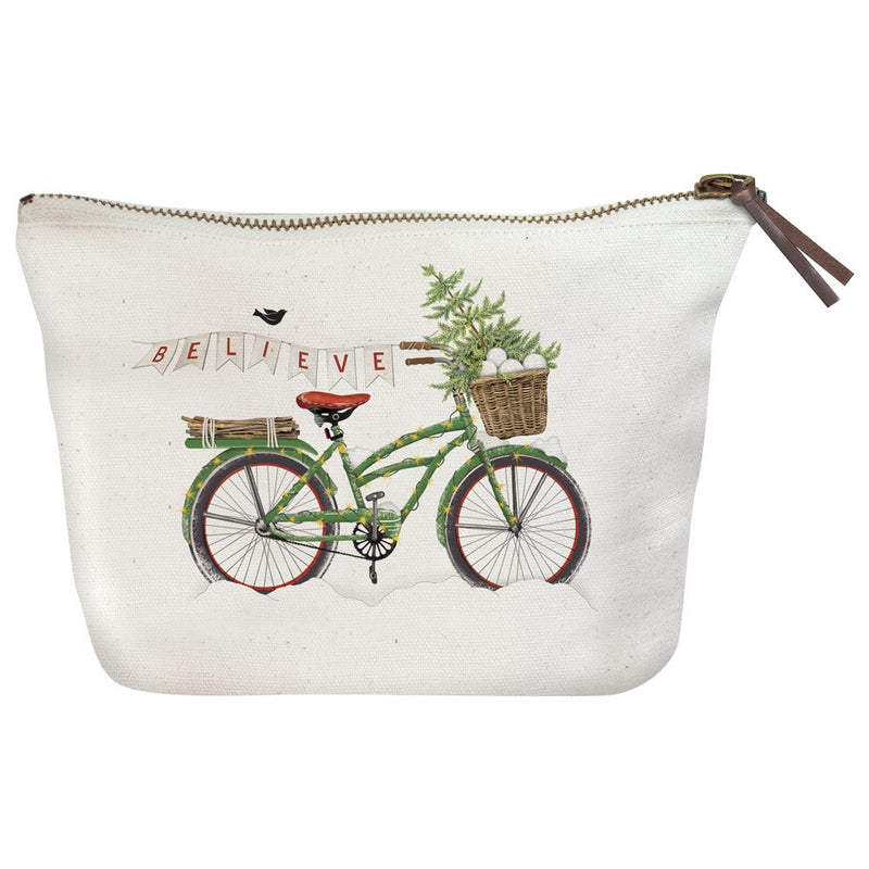 Christmas Canvas Pouch
