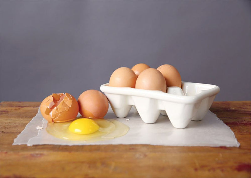 Ceramic Egg Holder - Half Dozen