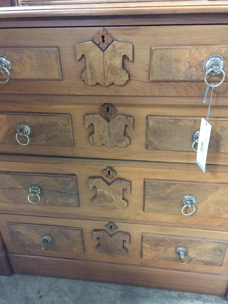 Gorgeous Chest w Mirror & Glove Boxes