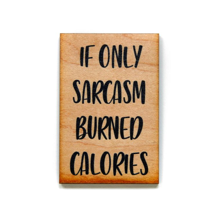 Funny Magnet - If Only Sarcasm