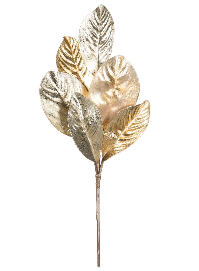 Magnolia Leaf Pick Platinum and Gold