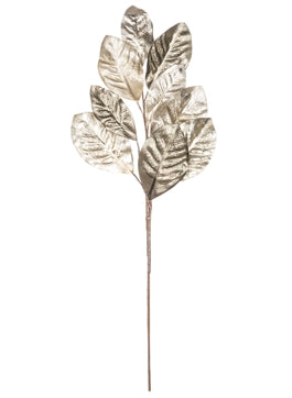 Magnolia Leaf Spray Pewter