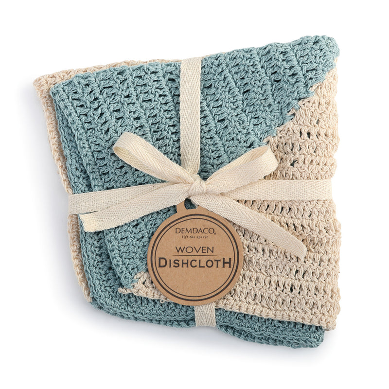 Woven Dish Cloth - Set of 2